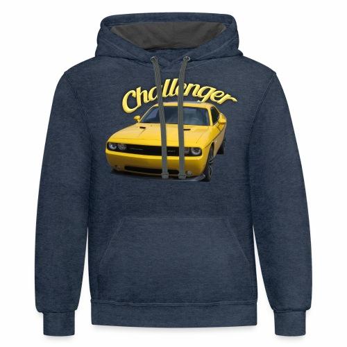 Challenger - Contrast Hoodie