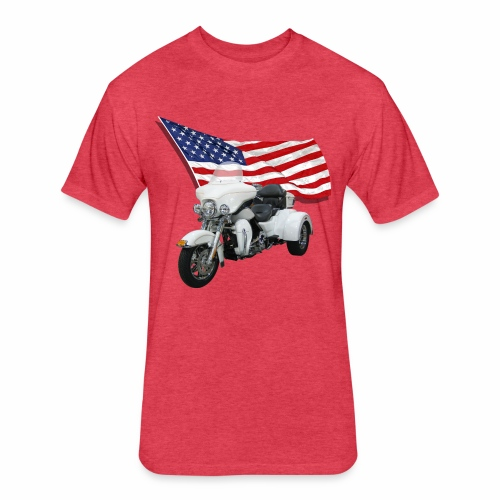 American Trike - Fitted Cotton/Poly T-Shirt by Next Level