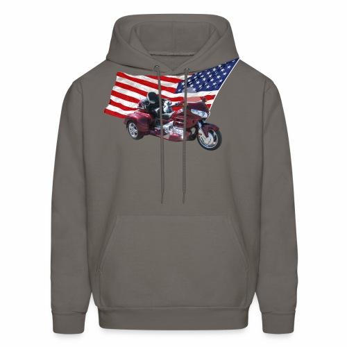 Patriotic Trike - Men's Hoodie