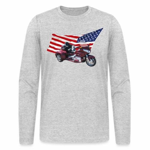 Patriotic Trike - Men's Long Sleeve T-Shirt by Next Level