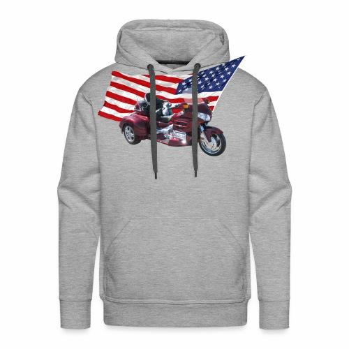 Patriotic Trike - Men's Premium Hoodie