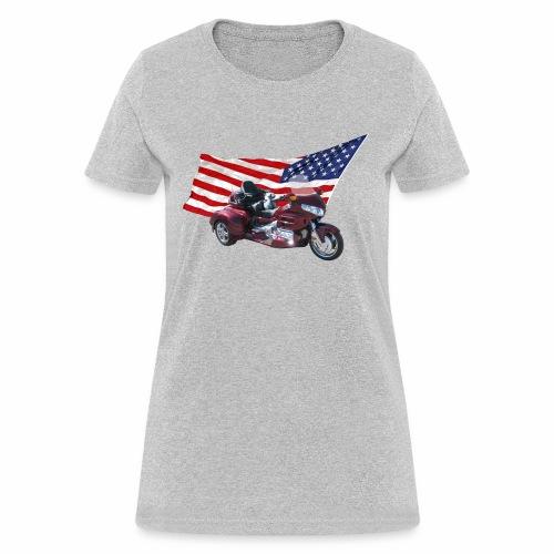 Patriotic Trike - Women's T-Shirt