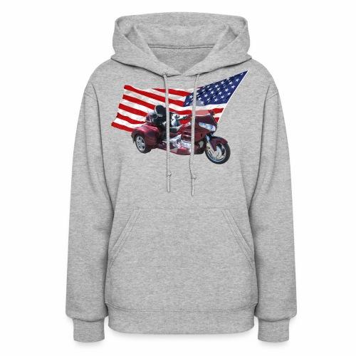Patriotic Trike - Women's Hoodie