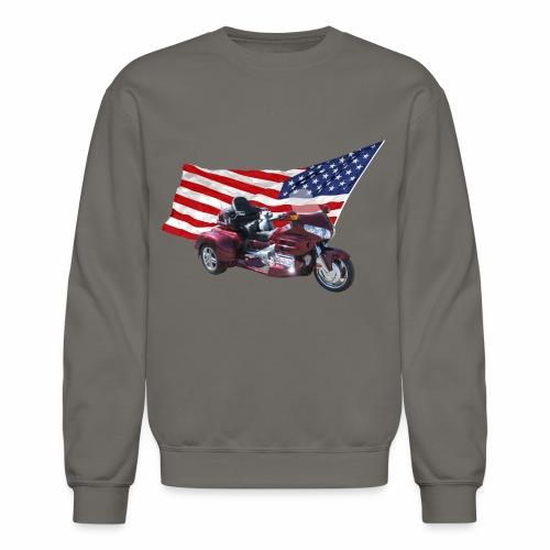 Patriotic Trike - Crewneck Sweatshirt