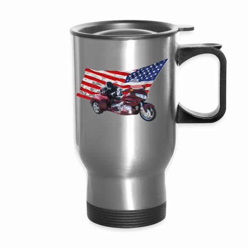 Patriotic Trike - Travel Mug