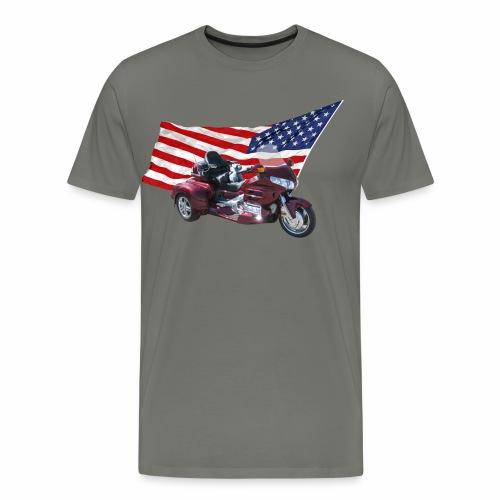 Patriotic Trike - Men's Premium T-Shirt