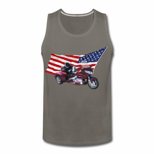Patriotic Trike - Men's Premium Tank