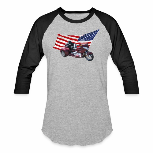 Patriotic Trike - Baseball T-Shirt