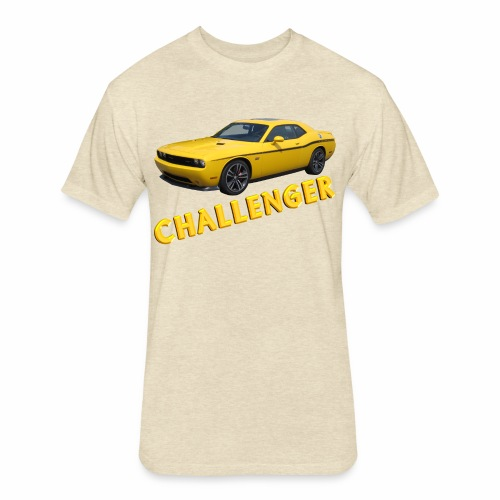 Challenger - Fitted Cotton/Poly T-Shirt by Next Level