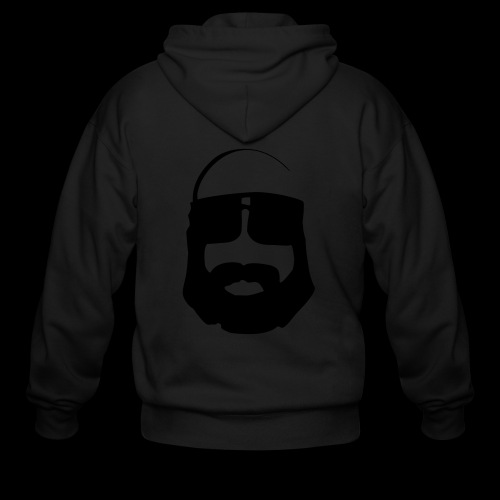 Men's Zip Hoodie - The Ted - www.TedsThreads.co All the beardy goodness that is The Ted.