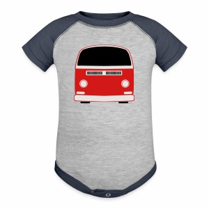 Baby Contrast One Piece - Show your Bay Window Bus pride! 