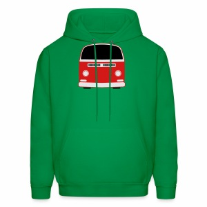 Men's Hoodie - Show your Bay Window Bus pride! 