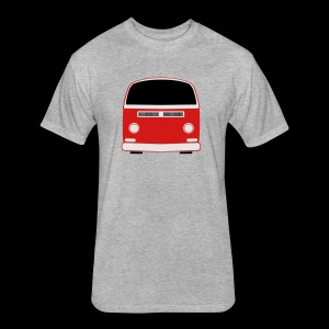 Fitted Cotton/Poly T-Shirt by Next Level - Show your Bay Window Bus pride!  Need more customization?  Click here: http://www.spreadshirt.com/design-your-own-t-shirt-C59/design/1000141322/article/15317834