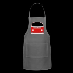 Adjustable Apron - Show your Bay Window Bus pride!  Need more customization?  Click here: http://www.spreadshirt.com/design-your-own-t-shirt-C59/design/1000141322/article/15317834