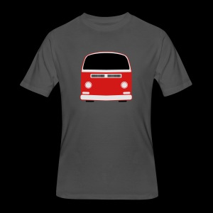 Men's 50/50 T-Shirt - Show your Bay Window Bus pride!  Need more customization?  Click here: http://www.spreadshirt.com/design-your-own-t-shirt-C59/design/1000141322/article/15317834