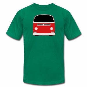 Men's T-Shirt by American Apparel - Show your Bay Window Bus pride! 