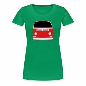 Women's Premium T-Shirt - Show your Bay Window Bus pride! 