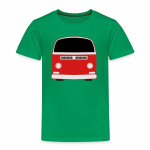 Toddler Premium T-Shirt - Show your Bay Window Bus pride! 