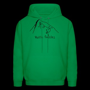 Men's Hoodie - Rollin' Fatties - www.TedsThreads.co