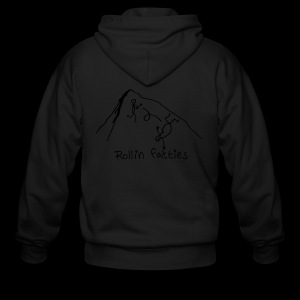 Men's Zip Hoodie - Rollin' Fatties - www.TedsThreads.co
