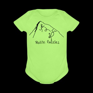 Short Sleeve Baby Bodysuit - Rollin' Fatties - www.TedsThreads.co