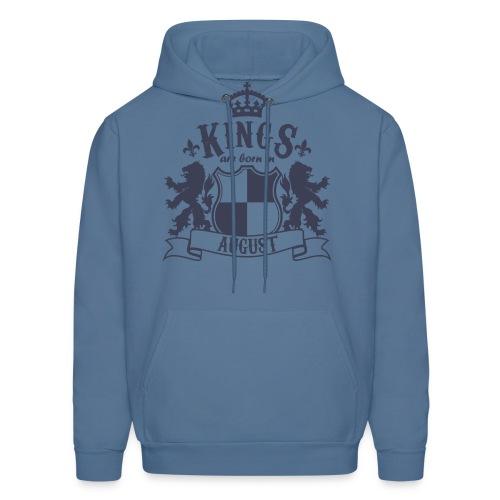 Kings are born in August - Men's Hoodie