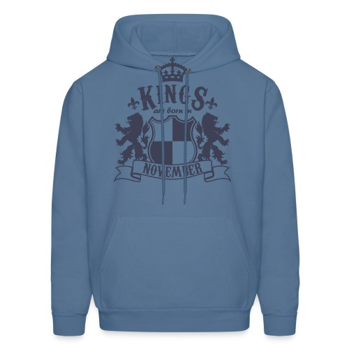 Kings are born in November - Men's Hoodie