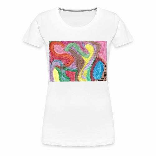 thecookiedimension art 2 shirt - Women's Premium T-Shirt