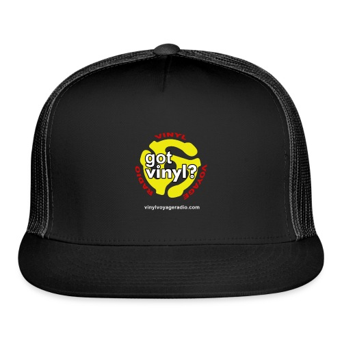 Vinyl Voyage Official Logo - Trucker Cap
