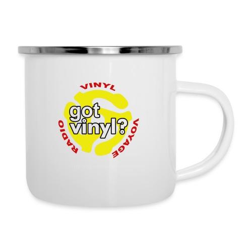 Vinyl Voyage Official Logo - Camper Mug