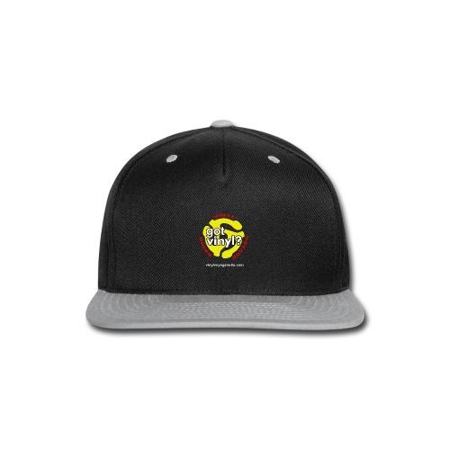 Vinyl Voyage Official Logo - Snap-back Baseball Cap