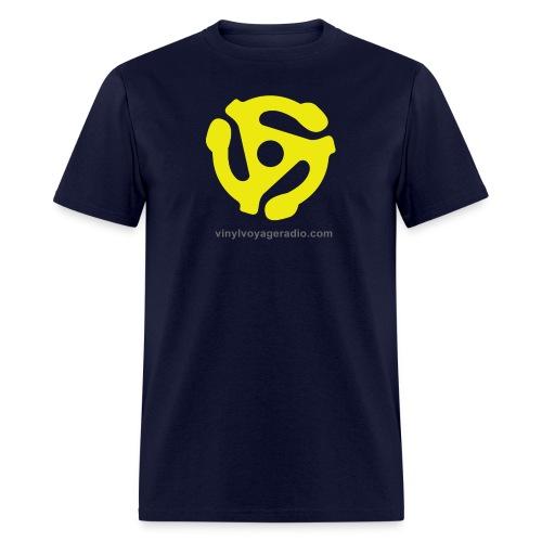 45 RPM  Adapter Logo - Men's T-Shirt