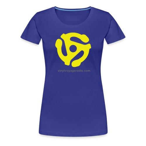 45 RPM  Adapter Logo - Women's Premium T-Shirt
