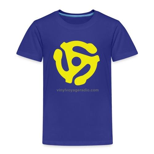 45 RPM  Adapter Logo - Toddler Premium T-Shirt