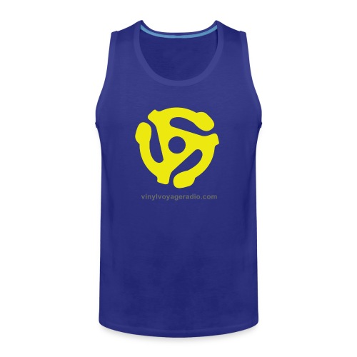 45 RPM  Adapter Logo - Men's Premium Tank
