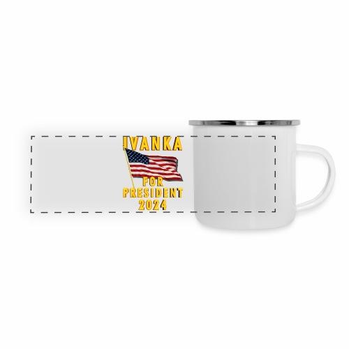 Ivanka for President - Panoramic Camper Mug