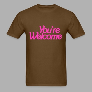 You're Welcome - Men's T-Shirt