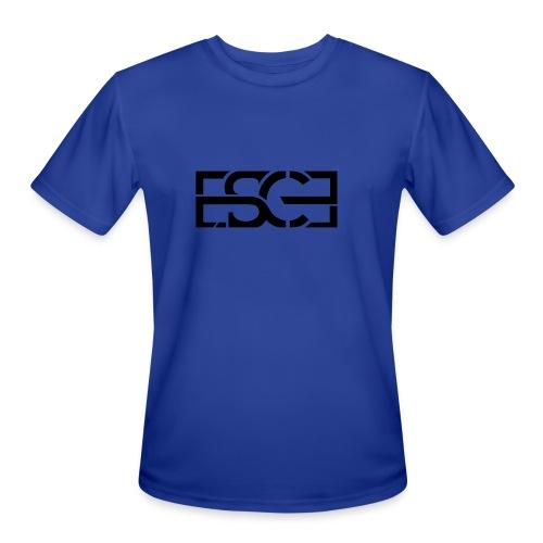 Men's Royal Blue Hoodie w/ ESCE in Black Font - Men's Moisture Wicking Performance T-Shirt