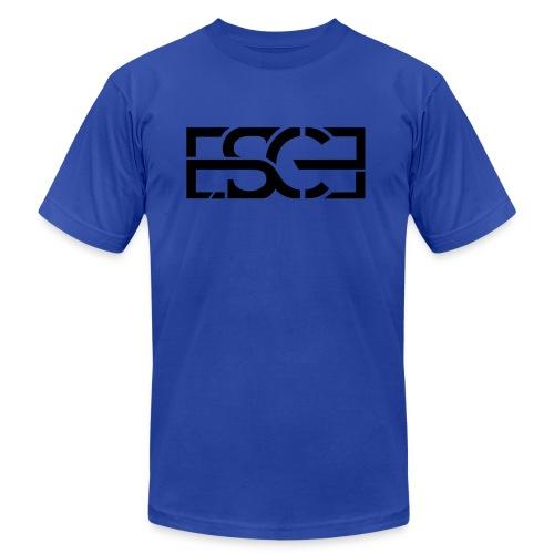 Men's Royal Blue Hoodie w/ ESCE in Black Font - Men's  Jersey T-Shirt
