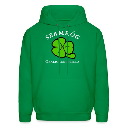 Shamrock Saint Patricks Day in green - Men's Hoodie