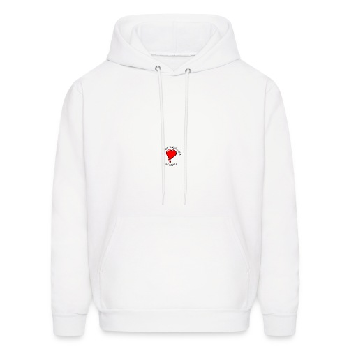 Red Bleeding Heart liberal vintage - Men's Hoodie