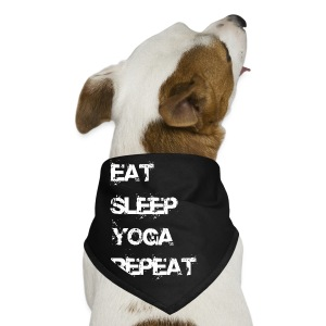 Eat Sleep Yoga Repeat Mug - Black - Dog Bandana