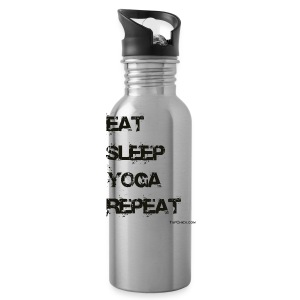 Eat Sleep Yoga Repeat Travel Mug - Water Bottle