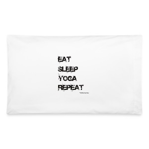 Eat Sleep Yoga Repeat Travel Mug - Pillowcase