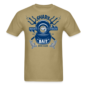 Shark Bait Dive Club - Men's T-Shirt