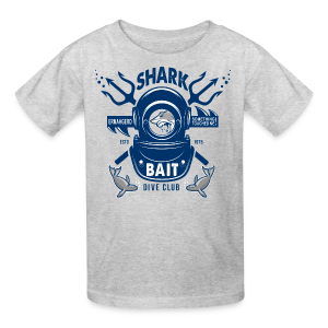 Shark Bait Dive Club - Kids' T-Shirt
