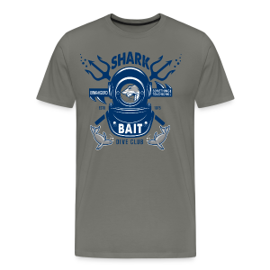 Shark Bait Dive Club - Men's Premium T-Shirt