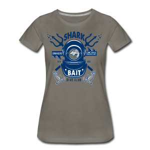 Shark Bait Dive Club - Women's Premium T-Shirt