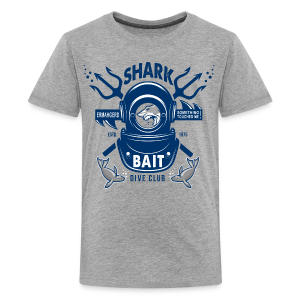 Shark Bait Dive Club - Kids' Premium T-Shirt