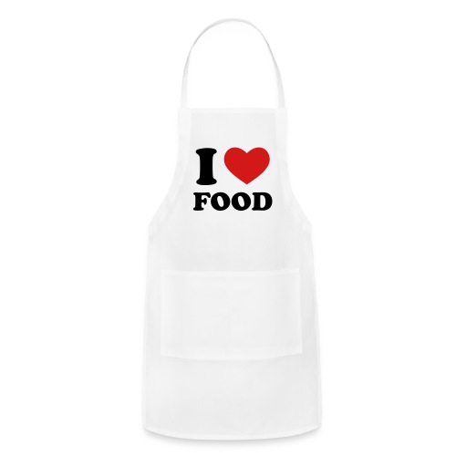 I Heart Food! - Adjustable Apron